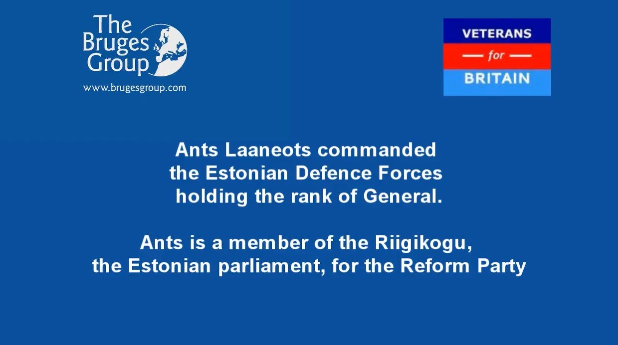European Defence after Brexit - a conversation with Ants Laaneots