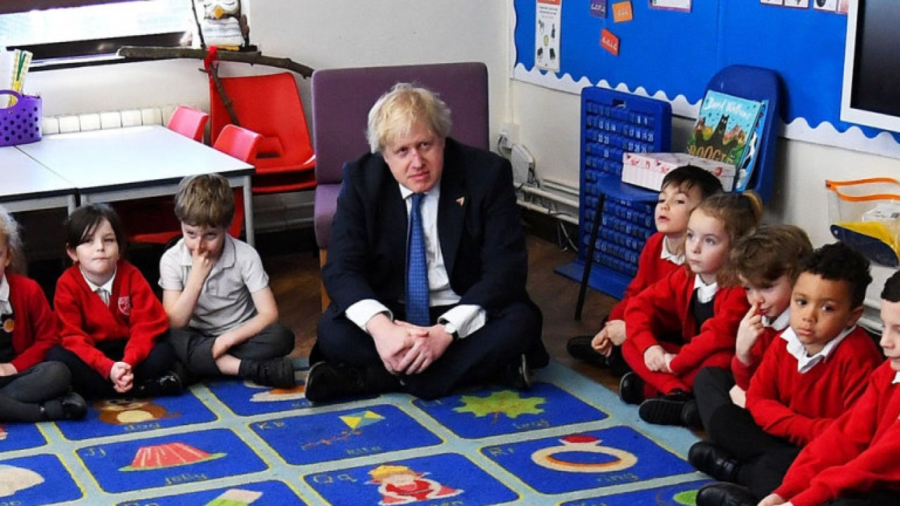 Boris-at-school