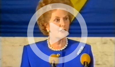 Celebrating Margaret Thatcher's Bruges Speech