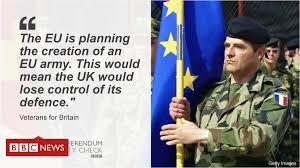 Post-Brexit EU control over UK Defence - Bruges Group Blog